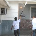 Painters Paint A House